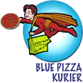 Blue Pizzakurier