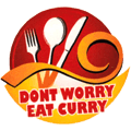 Dont Worry Eat Curry Asiatisch